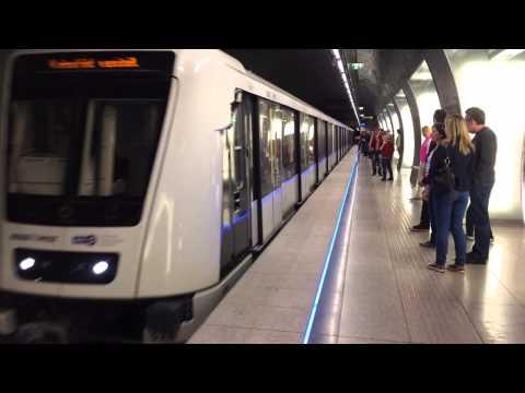 M4 metro line in Budapest, Hungrary
