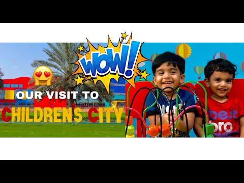 Our visit to CHILDREN'S CITY AT DUBAI CREEK PARK 🤩