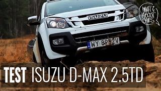 Skąd się wzięła popularność pickup'ów? - test ISUZU D-MAX DARK - WAC.TV