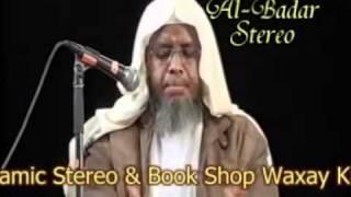 YouTube - Muxaadaro Calaamadaha Saacada Qiyaamo Sh Umal Q 12.flv