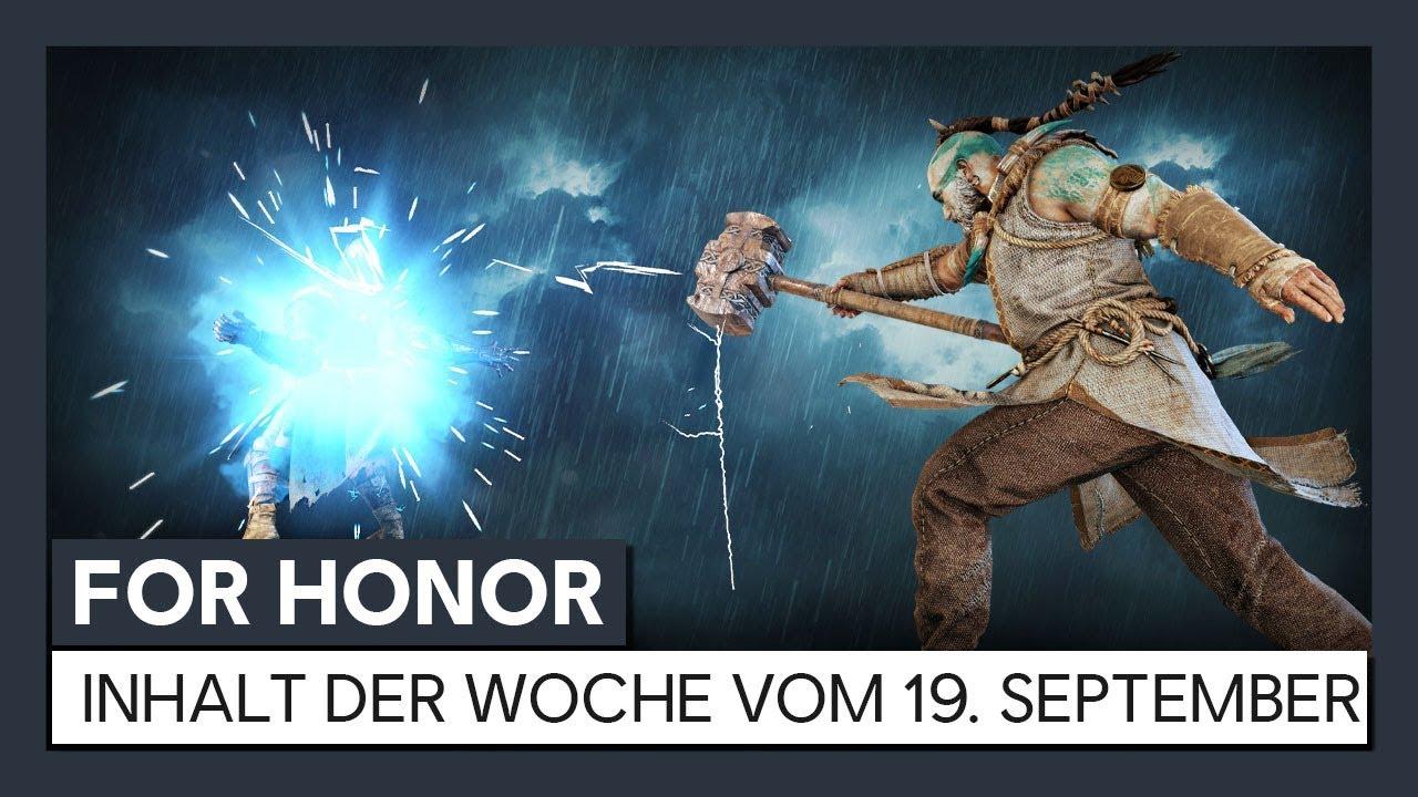 Download FOR HONOR - INHALT DER WOCHE VOM  19. SEPTEMBER | Ubisoft [DE]
