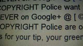 ☢©☢ RELEASE the INterNET © PoLiCe, copyright division marches on GooglePLEX