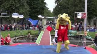 Stabhochsprung-Weltrekord für Maskottchen (Langversion 23.08.2014)