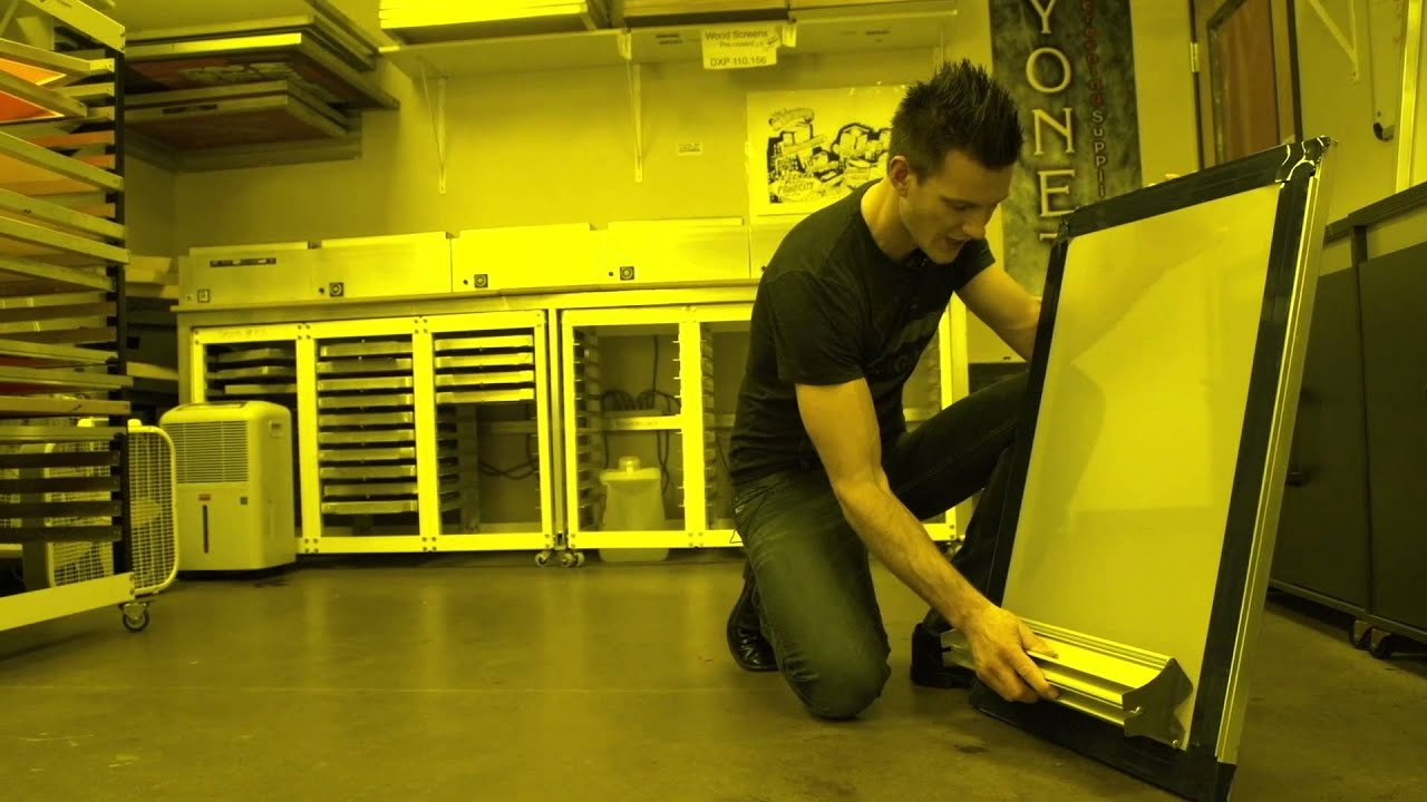 how to make an emulsion for screen printing