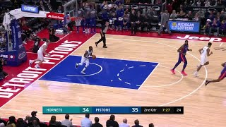 2nd Quarter, One Box Video: Detroit Pistons vs. Charlotte Hornets