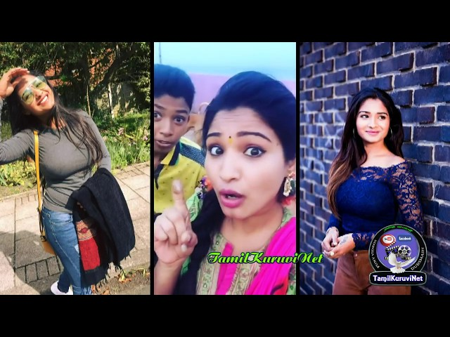 Sharanya news reader/Vijay tv Serial Nenjam Marappathillai/ Dubsmash Collection