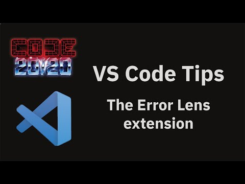 The Error Lens extension