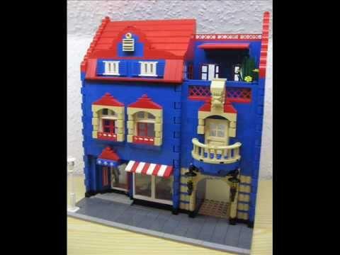 Lego City Neue Hauser Fur Die Erweiterung Der Beleuchteten Stadt