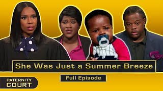 She Was Just a Summer Breeze: Man Refuses to Accept Paternity (Full Episode)   Paternity Court