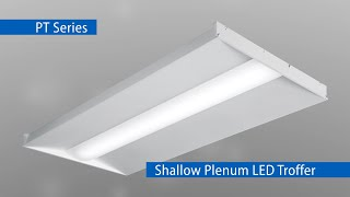 The PT Series is the perfect LED solution for shallow plenum applications.Learn more: https://www.hew.com/products/pt