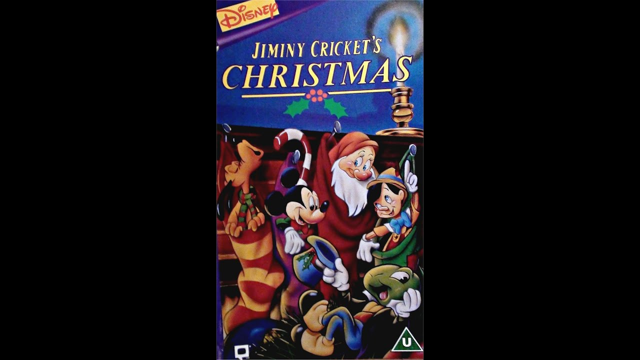 Digitized opening to Jiminy Crickets Christmas UK VHS YouTube