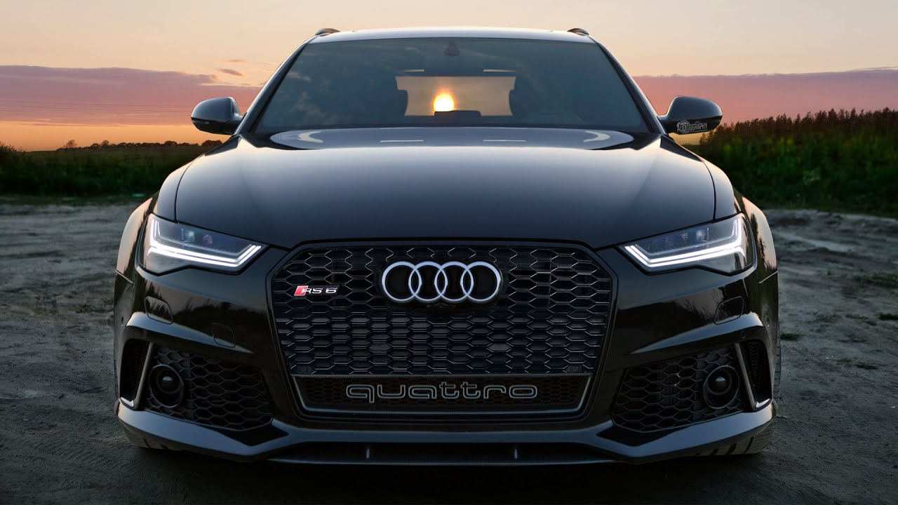 2017 Audi Rs6 Performance Blacked Out 605hp Exterior Interior