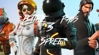 Fortnite Season Battle Pass 3 Shopping Spree