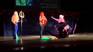 Oni no Yoru 2014 The Little Mermaid  Ariel, King Triton, Ursula  Tangled Project