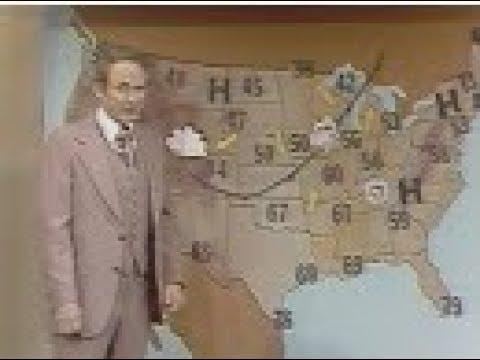 "WBBM Channel 2 - Noonbreak - ""Weather with Harry Volkman"" (Segment & Break, 1978)"
