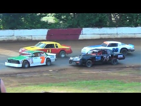 Street Stocks-Heat & Dash @ Iron Giant-River City Speedway 2019