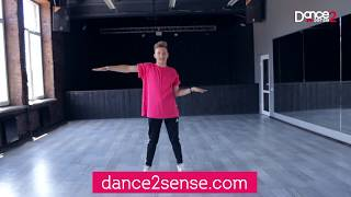 Vogue dance tutorial by Artemiy Hobo Lazarev - First Part