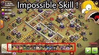 WTF War😂😂 Barbarian Archer Impossible Destroy 3 star Th11ax