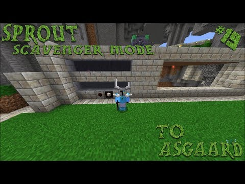 Minecraft 1.10.2 Sprout Ep. 19: Automating Living Wood and Rock
