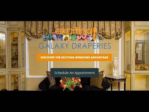 Custom Curtains & Window Treatments by Galaxy Draperies in Chatsworth, CA