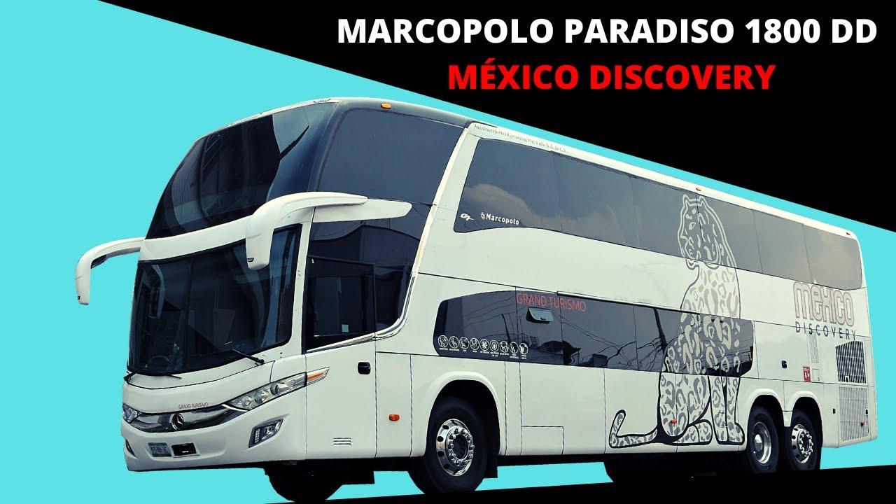 CONOCE EL MARCOPOLO PARADISO 1800 DOBLE PISO EN VERSIÓN TURISMO