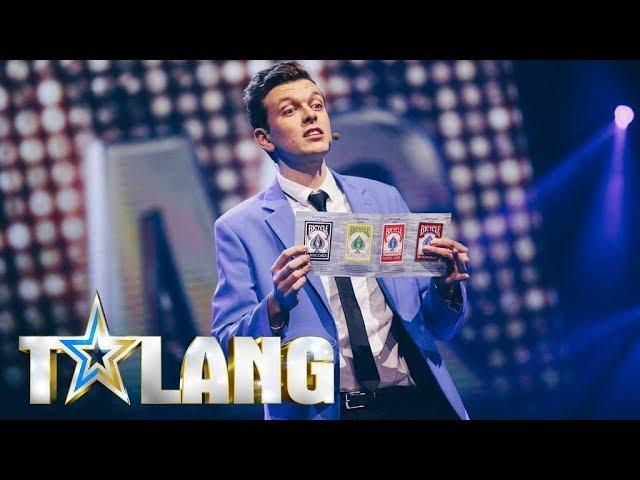Douglas får juryn att häpna med sin magi i Talang 2018 - Talang (TV4)