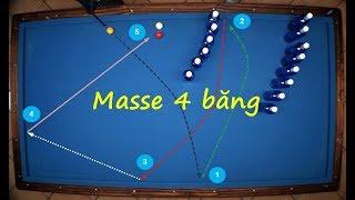 Bậc thầy biểu diễn masse, trô kéo, cule, a băng...quá đỉnh - Billiard carom trickshots