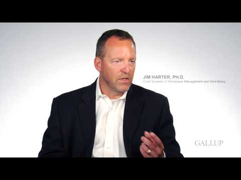 Inside Gallup's Q12 Survey – Q08: The mission or purpose of my company...
