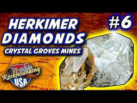 Episode 06: Herkimer Diamond Hunting at Crystal Grove in New York