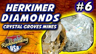 Episode 06: Gorgeous Herkimer Diamond Hunting at Crystal Grove in New York