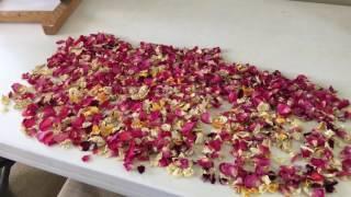Simple DIY Potpourri with Rose Petals