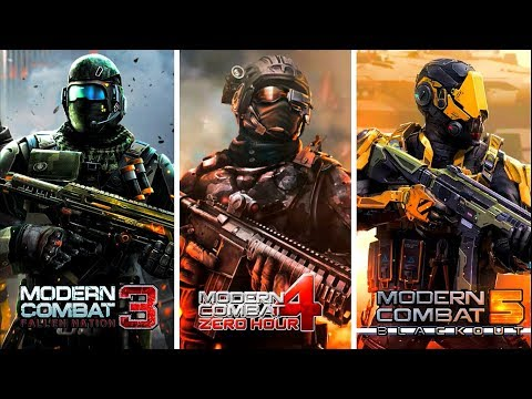 🔥Modern Combat 3 Vs Modern Combat 4 Vs Modern Combat 5 🔥 Comparison - Which Is Best For Mobile?
