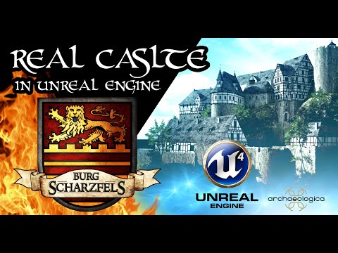 Castle Made In Unreal Engine - High Quality Model Reconstruction Animation - Documentary