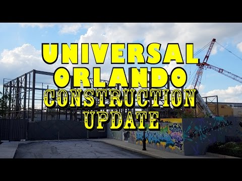 Universal Orlando Resort Construction Update 9.21.16 Progress On Fallon, Furious & Coke + More!