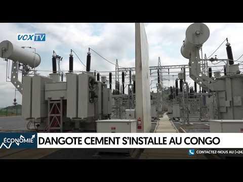 Dangote Cement s'installe au congo