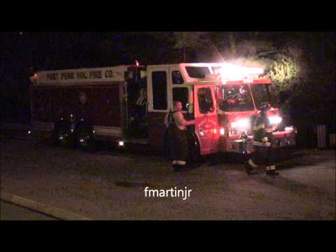 Del. firefighters battle suspicious fire at 1831 mill