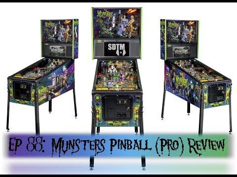 SDTM Episode 88: Munsters (Pro) Pinball Machine Review