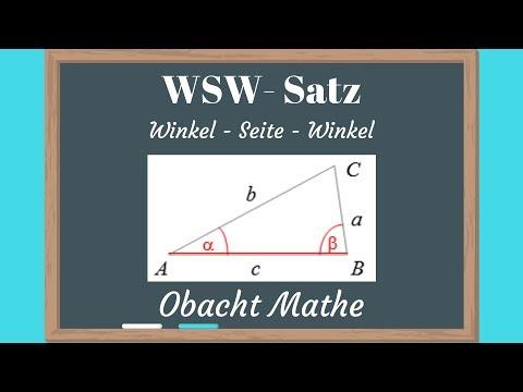 wsw-satz-(konstruktion-eines-dreiecks)---winkel-seite-winkel-|-obachtmathe