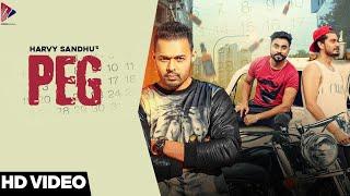 PEG | Harvy Sandhu | Desi Crew | New Punjabi Song 2021