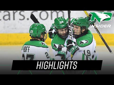 North Dakota vs. Alaska Anchorage | Highlights | UND Hockey | 11/23/18