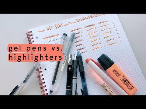 gel-pens-vs.-highlighters