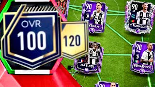 100 OVR Highest rated teams in fifa mobile 19 So far ! Highest master squads / Ronaldo gameplay