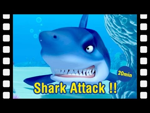 #22 Shark Attack!! | Kids movie | kids animation | Animated