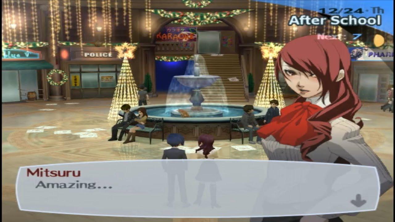 Persona 3 FES -Journey-100% HARD mode-Part 111-Christmas Eve - YouTube