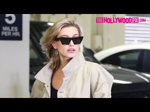Hailey Baldwin Runs Errands In Beverly Hills & Makes Party Plans With Friends On The Phone 3.5.18