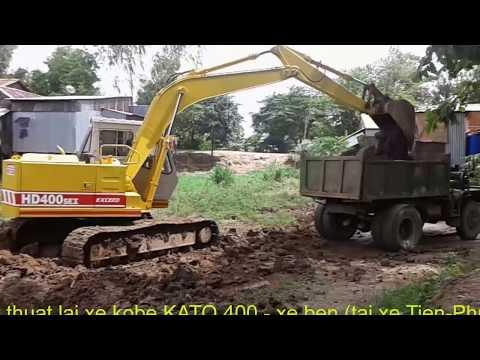 Kỹ thuật lái xe kobe KATO HD400 - xe ben (tài xế Tiến - Phúc)