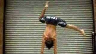 One Arm Handstand training...