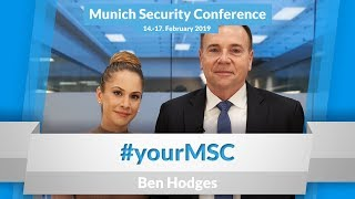 "Ben Hodges: ""Don't read what we tweet, watch what we do"" 