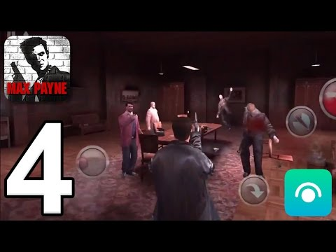 Max Payne Mobile - Gameplay Walkthrough Part 4 - Part 1, Chapter 4 (iOS, Android) - 동영상