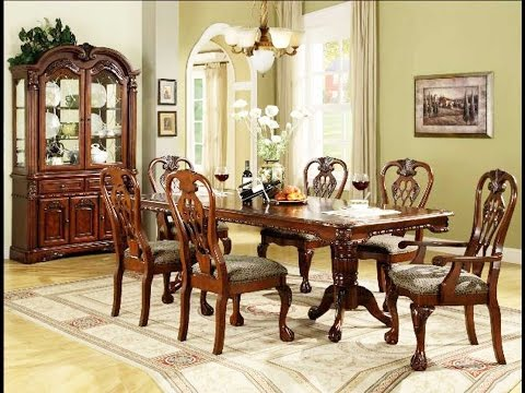 pics of dining room furniture | Furniture _ Luxurious Formal Dining Room Tables That Made ...